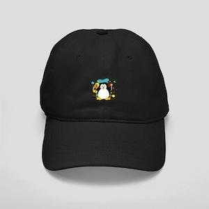 Artistic Penguin Black Cap