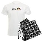 Kubb Addict Men's Light Pajamas