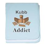 Kubb Addict baby blanket