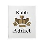 Kubb Addict Throw Blanket