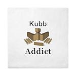 Kubb Addict Queen Duvet