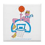 Ok-9 Inspiration(basketball) Tile Coaster