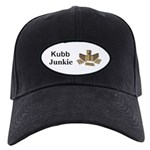 Kubb Junkie Black Cap with Patch