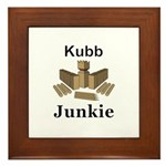 Kubb Junkie Framed Tile