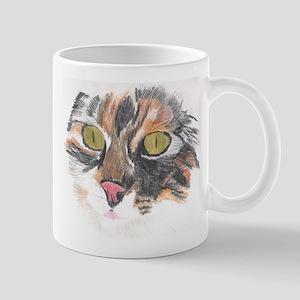 Beautiful Calico Cat Mug