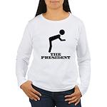 Bow Women's Long Sleeve T-Shirt