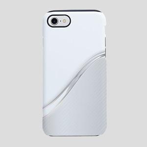 Light Metallic Abstract iPhone 7 Tough Case