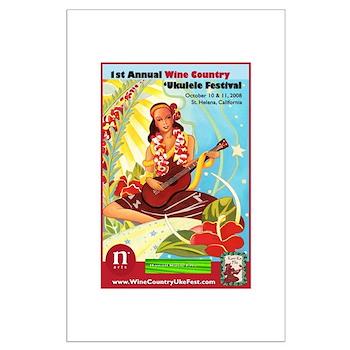 2008 Wine Country 'Uke Fest Poster