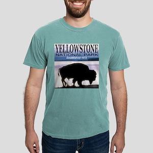 Yellowstone NP Established 18 Ash Grey T-Shirt