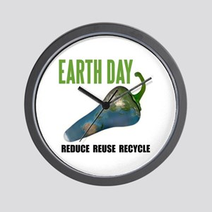 Earth Day Global Warming Wall Clock