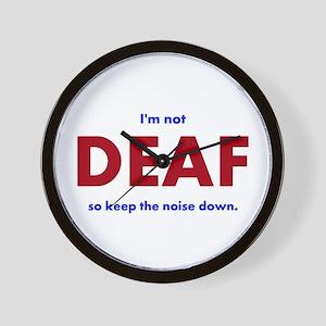 DEAF I am not Wall Clock
