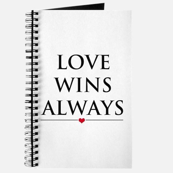Love Wins Always Journal