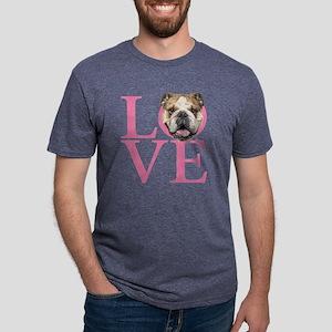 Love English Bulldog T-Shirt