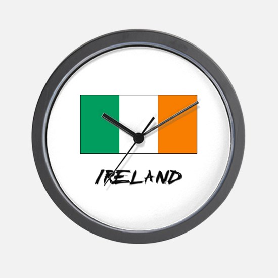 Ireland Flag Wall Clock