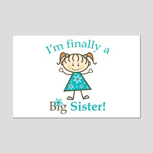 Big Sister Finally Mini Poster Print