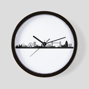 Skyline London Wall Clock