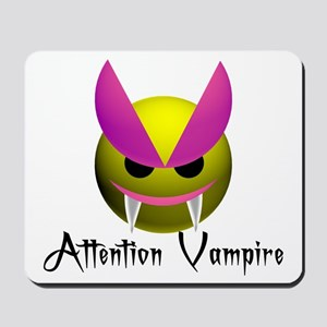 ATTENTION VAMPIRE Mousepad