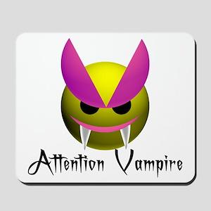 ATTENTION VAMPIRE Mousepad