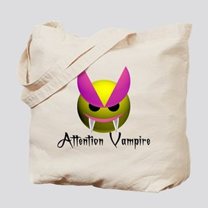 ATTENTION VAMPIRE Tote Bag
