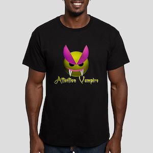 ATTENTION VAMPIRE Men's Fitted T-Shirt (dark)