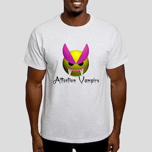 ATTENTION VAMPIRE Light T-Shirt