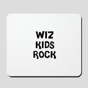 WIZ KIDS ROCK Mousepad