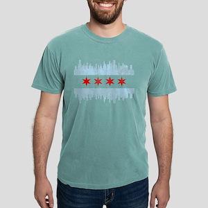 Chicago Skyline Flag T-Shirt