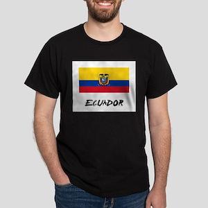 Ecuador Flag Dark T-Shirt