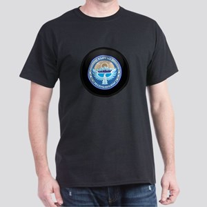 Coat of Arms of Kyrgyzstan Dark T-Shirt