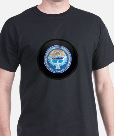 Coat of Arms of Kyrgyzstan T-Shirt