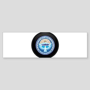 Coat of Arms of Kyrgyzstan Bumper Sticker