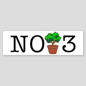 No Third Bush Bumper Sticker