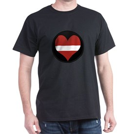 I love Latvia Flag T-Shirt