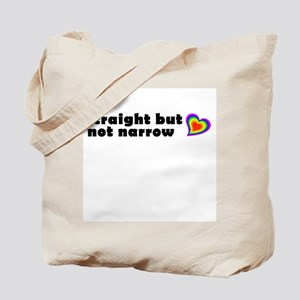 Straight But Not Narrow Tote Bag