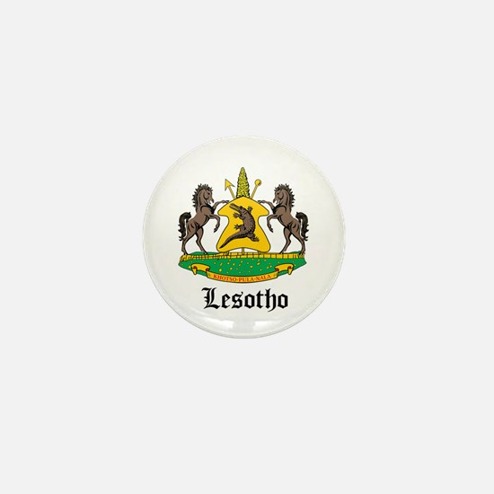 Losotho Coat of Arms Seal Mini Button