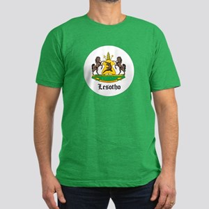 Losotho Coat of Arms Seal Men's Fitted T-Shirt (da