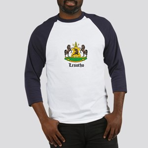 Losotho Coat of Arms Seal Baseball Jersey