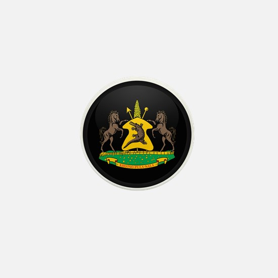 Coat of Arms of lesotho Mini Button