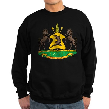 lesotho Flag Sweatshirt (dark)