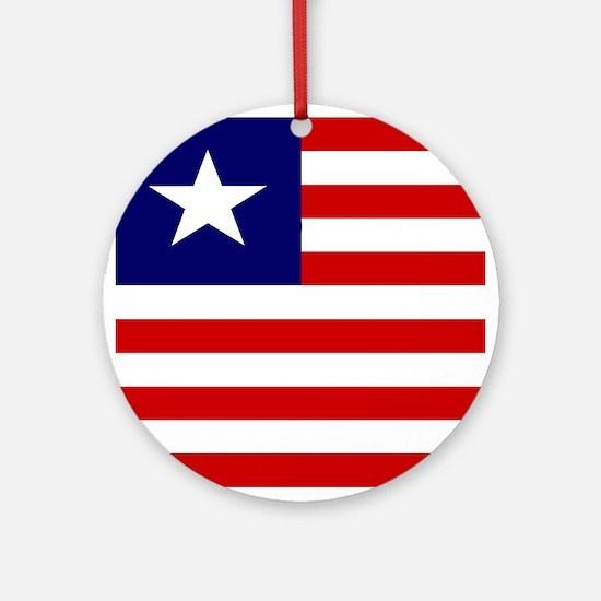 Liberian Ornament (Round)
