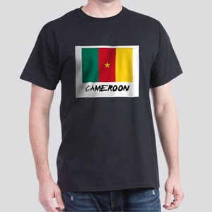 Cameroon Flag Dark T-Shirt