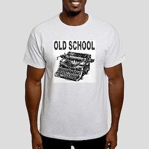 OLD SCHOOL TYPEWRITER Light T-Shirt