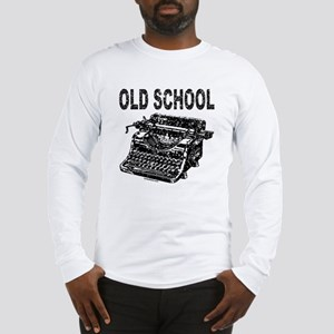 OLD SCHOOL TYPEWRITER Long Sleeve T-Shirt