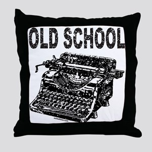 OLD SCHOOL TYPEWRITER Throw Pillow