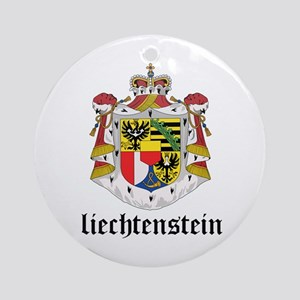 Liechtensteiner Coat of Arms Ornament (Round)