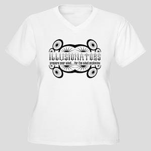 Illusionators Women's Plus Size V-Neck T-Shirt