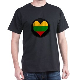 I love Lithuania Flag T-Shirt