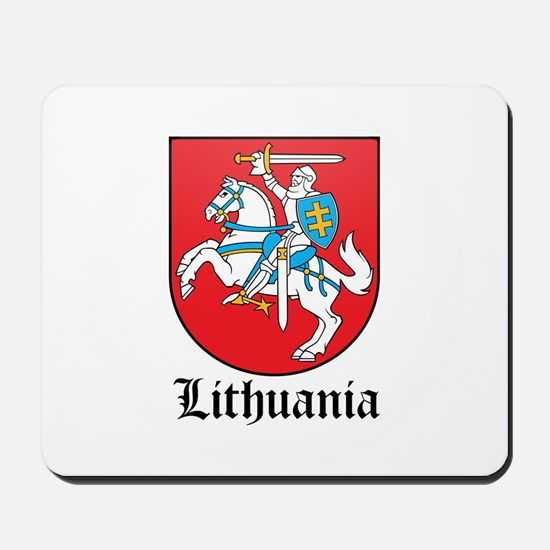 Lithuanian Coat of Arms Seal Mousepad