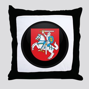 Coat of Arms of Lithuania Throw Pillow
