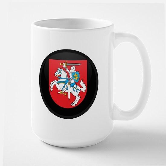Coat of Arms of Lithuania Large Mug